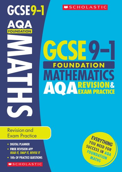 Maths Foundation Revision and Exam Practice Book for AQA - Naomi Norman