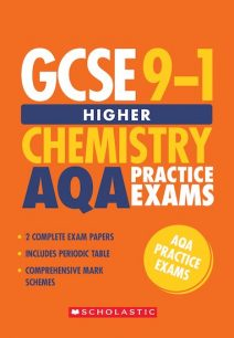 GCSE Grades 9-1: Higher Chemistry AQA Practice Exams (2 papers) x 10 - Stuart Lloyd