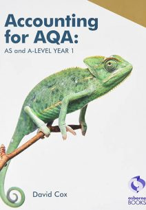 Accounting for AQA : AS and A Level Year 1 - David Cox
