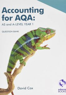 Accounting for AQA: AS and A Level Question Bank - David Cox