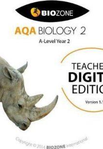 AQA Biology: 2016: No. 2 - Biozone International Ltd