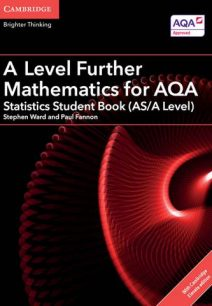 A Level Further Mathematics for AQA Statistics Student Book (AS/A Level) with Cambridge Elevate Edition (2 Years)